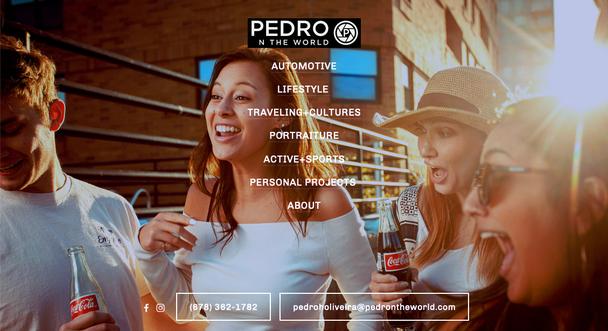 Сайт фотографа Pedro n the World