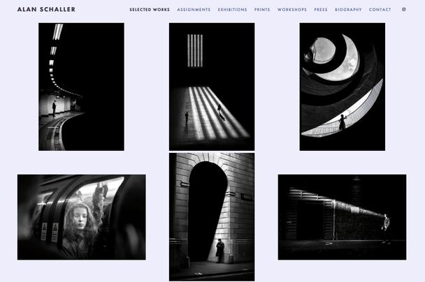 Сайт фотографа Alan Schaller