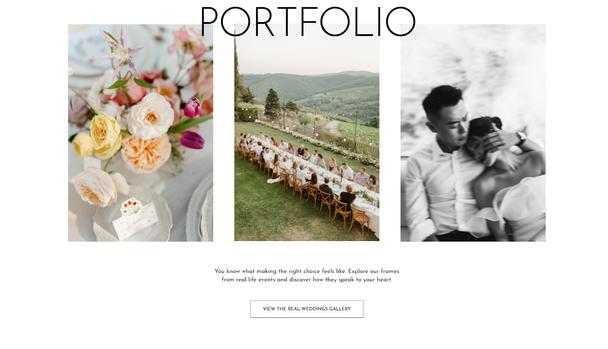 Сайт фотографа Danilo & Sharon