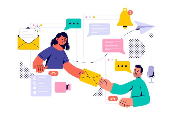 Иллюстрация к статье: Email-аутрич в B2B: хаки и советы по расширению базы лидов