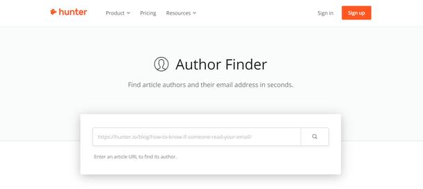 Hunter.io — не менее эффективный сервис, предназначенный для поиска и валидации емейлов по компаниям и другим открытым базам данных.