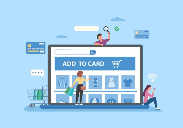 Иллюстрация к статье: SEO-продвижение интернет-магазина: советы бизнесу и рекомендации по тематикам