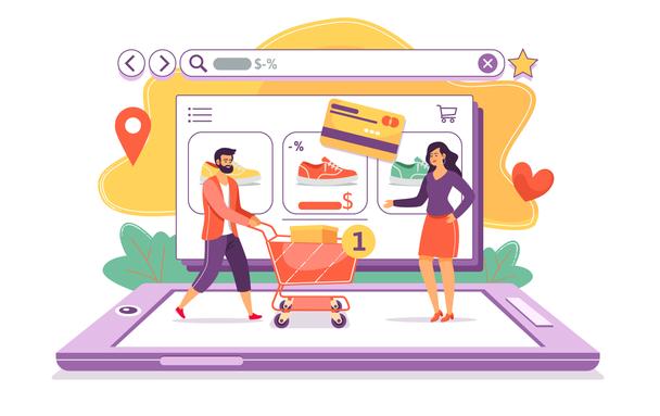 Иллюстрация к статье: Что такое маркетплейсы и зачем интернет-магазинам там размещаться?