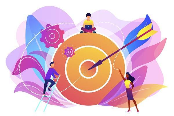 Иллюстрация к статье: Как ставить цели по OKR в 8 шагах + примеры