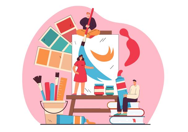Иллюстрация к статье: Инструменты и ресурсы для работы с цветом в 2021 году