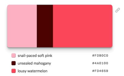 Образные цветовые палитры